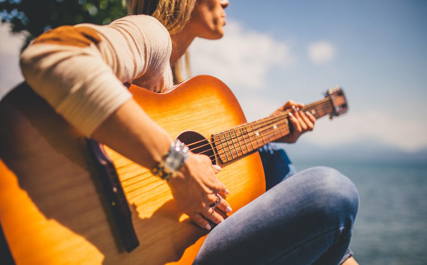 een maand lang online gitaarles bij Online Gitaar Academie